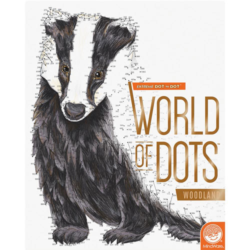 World of Dots Book- Woodland