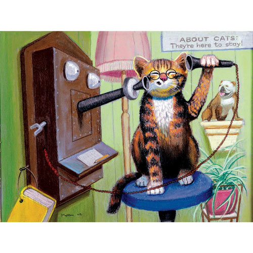 I've Got Your Number 300 Large Piece Jigsaw Puzzle