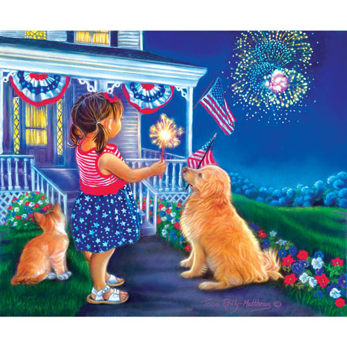 Fourth Friends 300 Large Piece Jigsaw Puzzle