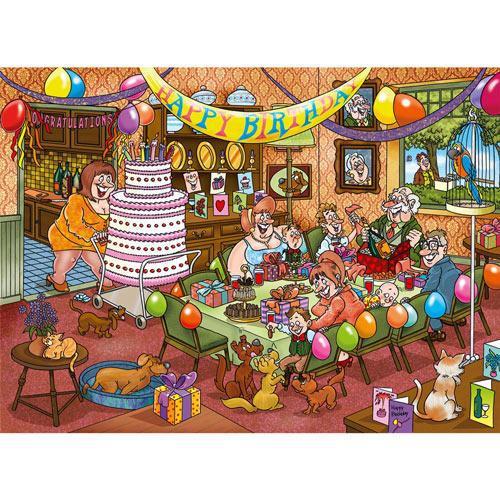 Birthday Surprise 1000 Piece Wasgij Puzzle