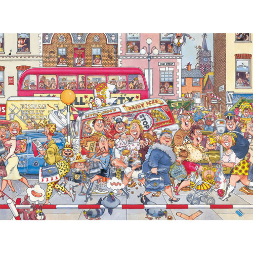 Full Monty Fever 1000 Piece Jigsaw Puzzle