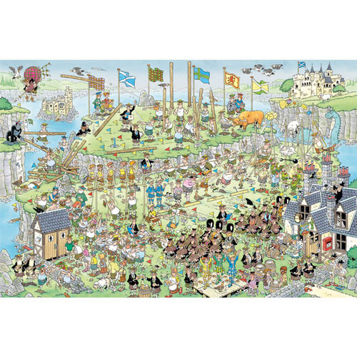Highland Games 1500 Piece Jigsaw Puzzle