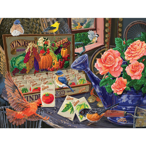 Seed Box 300 Large Piece Jigsaw Puzzle