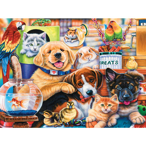 Home Wanted 300 Large Piece Jigsaw Puzzle