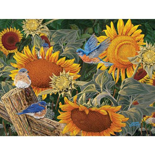 Sunflower Patch 300 Large Piece Jigsaw Puzzle