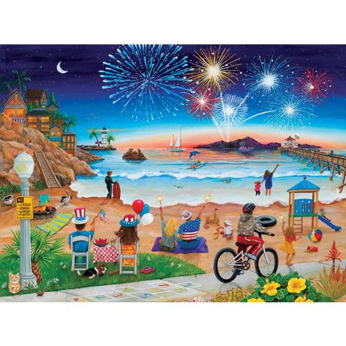 July Beach 500 Piece Jigsaw Puzzle