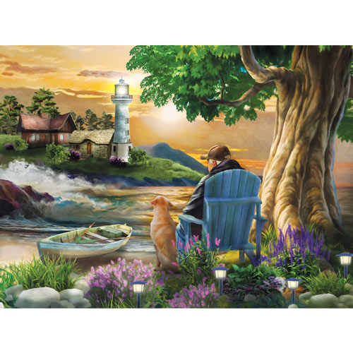 Old Friends 500 Piece Jigsaw Puzzle