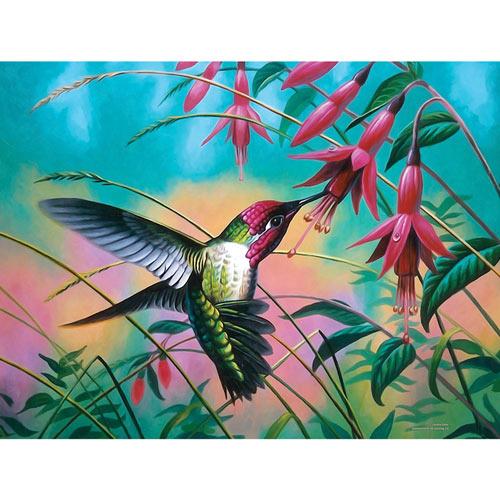 Hummingbird Haven 500 Piece Jigsaw Puzzle