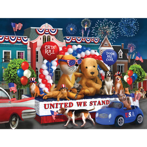 United We Stand 300 Large Piece Jigsaw Puzzle