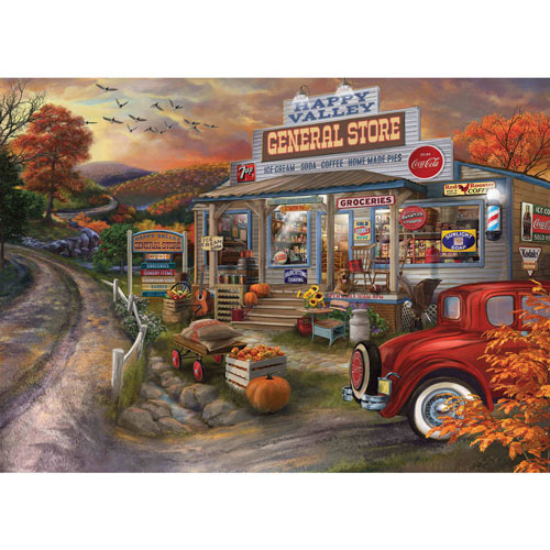 General Store 1000 Piece Jigsaw Puzzle