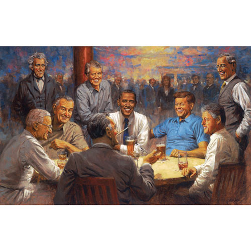 Democratic Club 550 Piece Jigsaw Puzzle