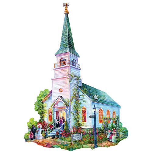 Saved by Grace 1000 Piece Shaped Jigsaw Puzzle