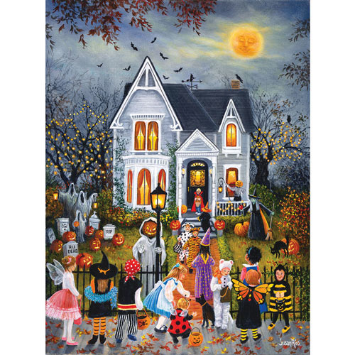 Scary Night 1000 Piece Jigsaw Puzzle