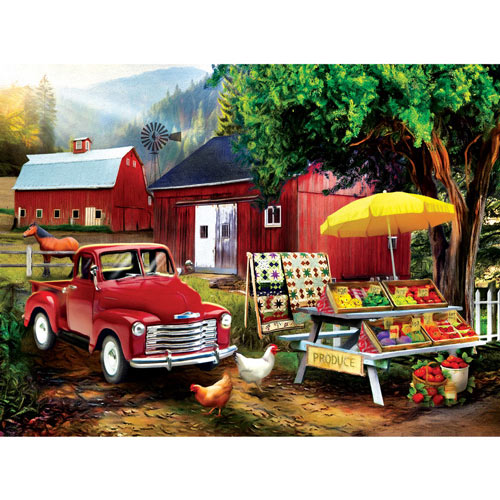 Country Produce 300 Large Piece Jigsaw Puzzle