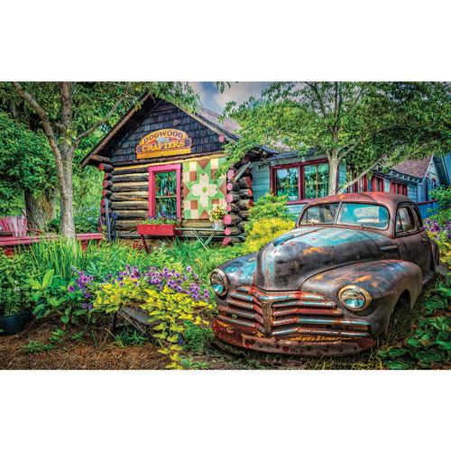 Part of the Garden 550 Piece Jigsaw Puzzle