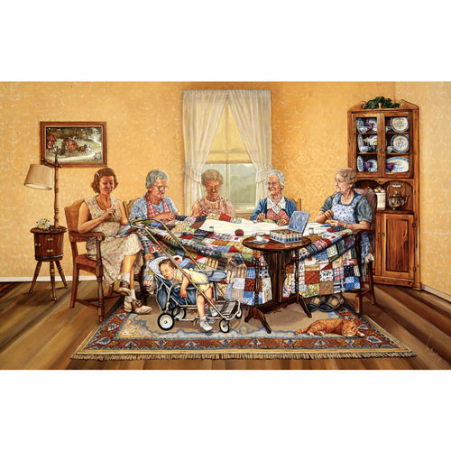 The Gossip Party 1000 Piece Jigsaw Puzzle