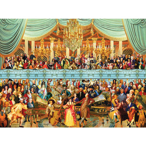 Eighteenth Century History 1500 Piece Jigsaw Puzzle