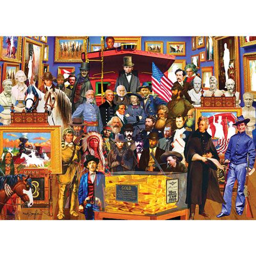 Nineteenth Century History 1500 Piece Jigsaw Puzzle