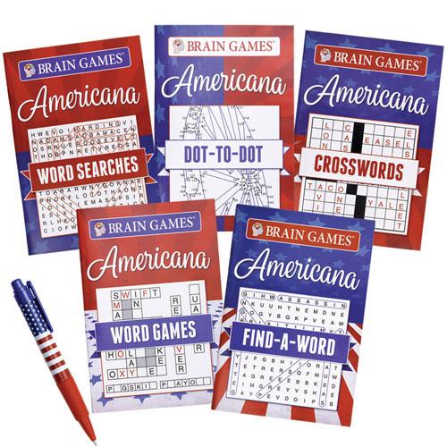 Americana Puzzle Book- Set of 5