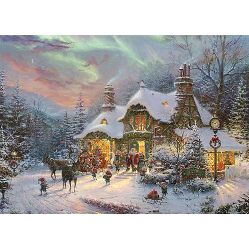 Santa's Night Before Christmas 1000 Piece Jigsaw Puzzle