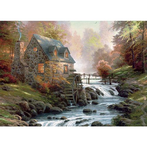 Cobblestone Mill 1000 Piece Jigsaw Puzzle