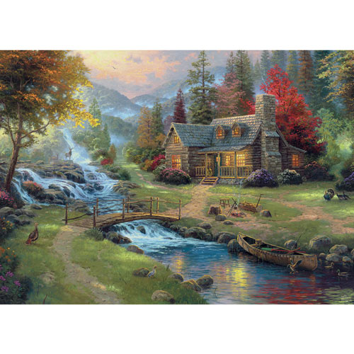 Mountain Paradise 1000 Piece Jigsaw Puzzle