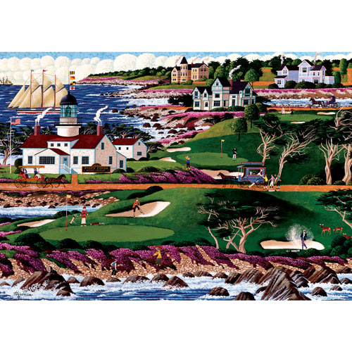 Pacific Grove Golf Course 300 Large Piece Jigsaw Puzzle