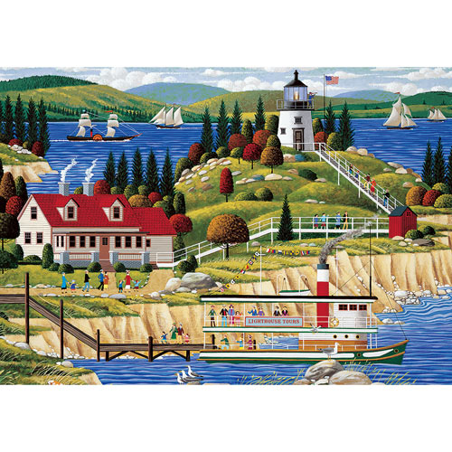 Owl's Head Light 1000 Piece Jigsaw Puzzle