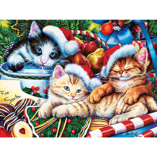 Holiday Treasures 300 Large Piece Jigsaw Puzzle
