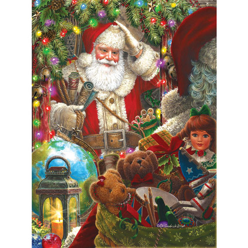 Ready to Go Santa 300 Large Piece Jigsaw Puzzle