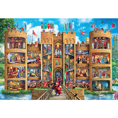 Medieval Castle 1000 Piece Jigsaw Puzzle