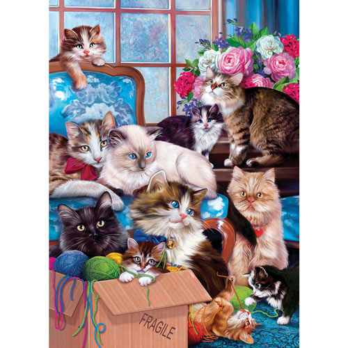 Trouble Makers 1000 Piece Jigsaw Puzzle