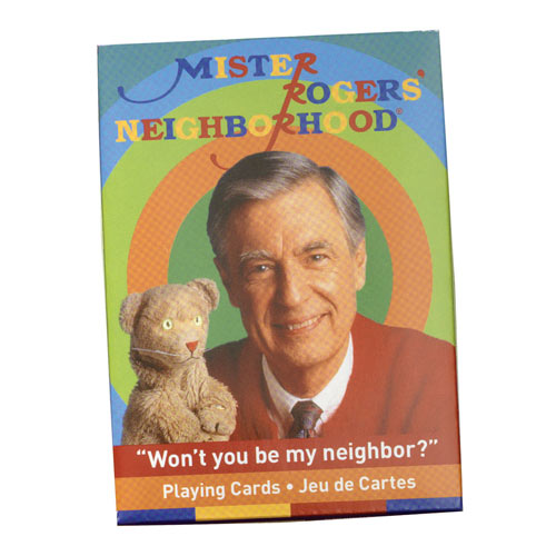 Mr. Rogers Playing Cards