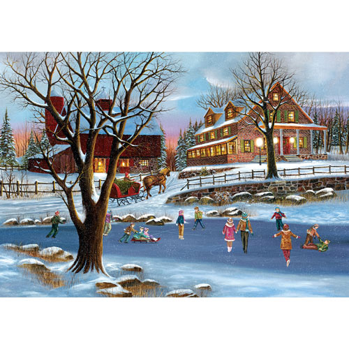Heartland Holiday 1000 Piece Jigsaw Puzzle