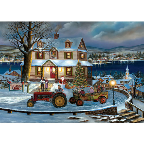 Old George Inn 1000 Piece Jigsaw Puzzle
