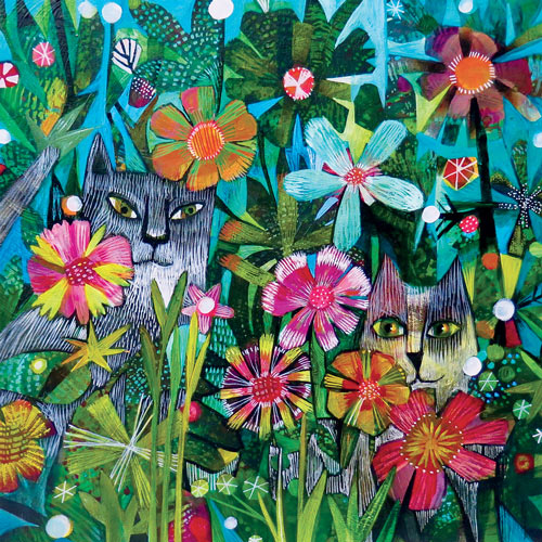 Cats 300 Large Piece Jigsaw Puzzle