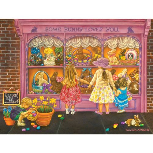 Some Bunny Loves You 300 Large Piece Jigsaw Puzzle