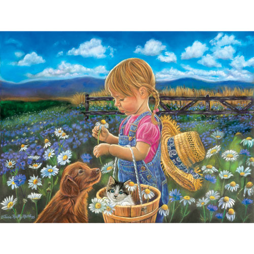 Country Girl 500 Piece Jigsaw Puzzle