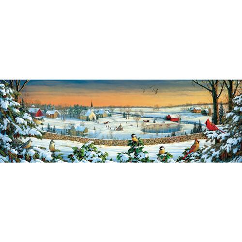 Winter Panorama 500 Piece Jigsaw Puzzle