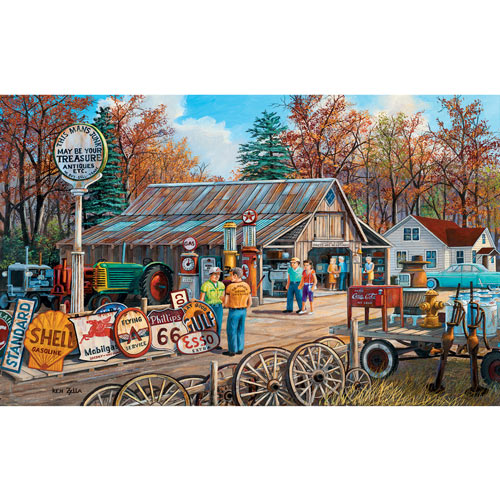 Signs of the Times 550 Piece Jigsaw Puzzle