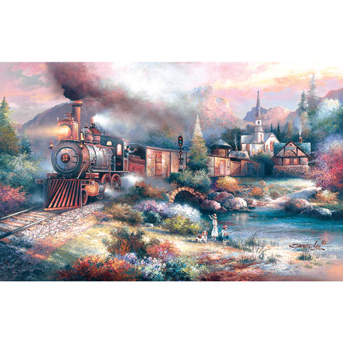 Maryland Mountain Express 300 Large Piece Jigsaw Puzzle