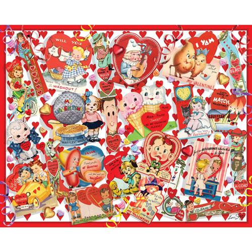 Valentine Cards 300 Large Piece Jigsaw Puzzle