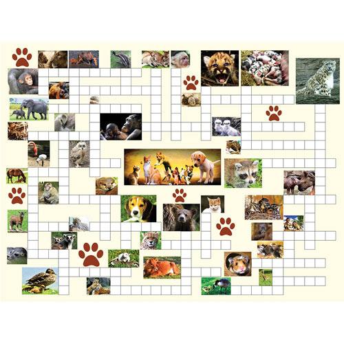 Animal Nursery 500 Piece Jigsaw Puzzle