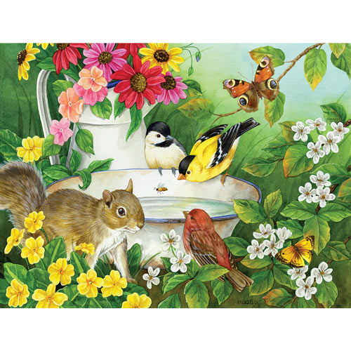 Morning Bath 500 Piece Jigsaw Puzzle