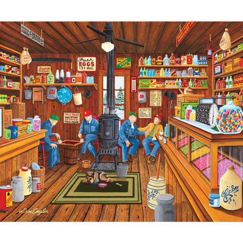 Old Friendship 300 Large Piece Jigsaw Puzzle