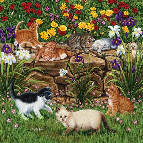 Wall Flowers 500 Piece Jigsaw Puzzle