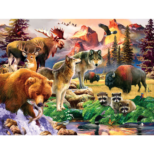 The Great Outdoors 300 Large Piece Jigsaw Puzzle