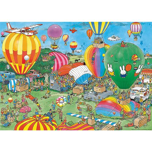 Hooray, Miffy 65 Years 1000 Piece Jigsaw Puzzle