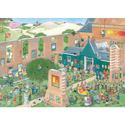 The Art Market 1000 Piece Jigsaw Puzzle