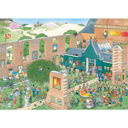 The Art Market 2000 Piece Jigsaw Puzzle